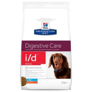 Hills Prescription Diet i/d Stress Mini  Digestive Care s kuřecím - 5 kg