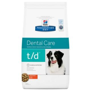 Hills Prescription Diet t/d Dental Care s kuřecím masem - 10 kg