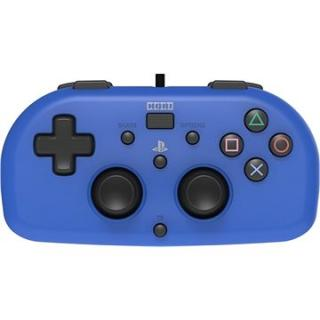HORI Wired Mini Gamepad modrý - PS4