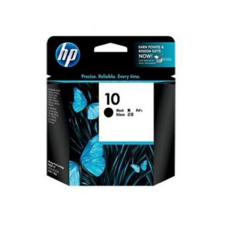 HP 10 Black Ink Cart, 69 ml, C4844A , C4844A