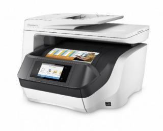 HP All-in-One Officejet Pro 8730 (A4, 24/20 ppm, USB 2.0, Ethernet, Wi-Fi, Print/Scan/Copy/Fax), D9L20A