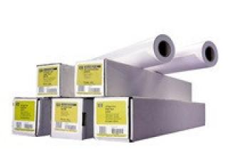 HP Bright White Inkjet Paper-841 mm x 45.7 m (33.11 in x 150 ft),  4.8 mil,  90 g/m2, Q1444A, Q1444A
