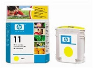 HP C4838A Ink Cart No.11 pro BI 2200,2250,CP1700, 28ml, Yellow, C4838A