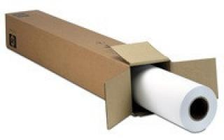HP Matte Film-914 mm x 38.1 m (36 in x 125 ft),  5 mil,  160 g/m2, 51642B, 51642B