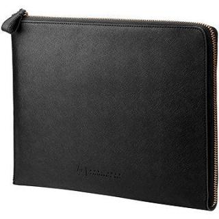 HP Spectre Black Leather Sleeve (Zipper) 13.3