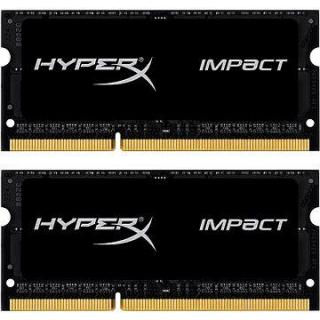 HyperX SO-DIMM 16GB KIT DDR3L 1866MHz Impact CL11 Black Series (HX318LS11IBK2/16)