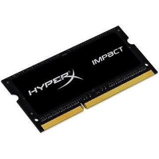 HyperX SO-DIMM 4GB DDR3L 1600MHz Impact CL9 Dual Voltage Black Series (HX316LS9IB/4)