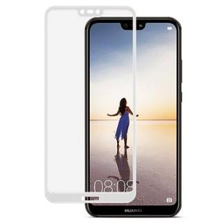 Icheckey 2.5D silk Tempered Glass protector Black pro Huawei P20 Lite