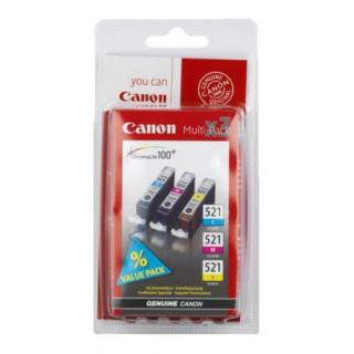 Inkoust Canon Ink CLI-521 C/M/Y Pack