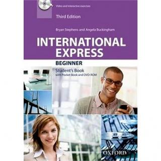International Express Third Ed. Beginner Student´s Book with Pocket Book and DVD (9780194576697)