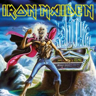 Iron Maiden : Run To The Hills (Live) LP