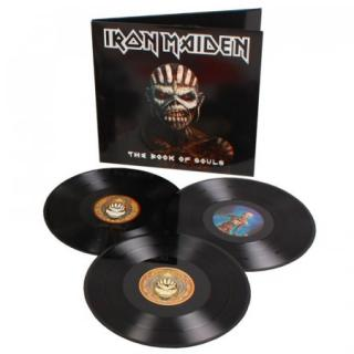 Iron Maiden : The Book Of Souls 3LP