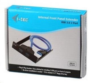 iTec Internal USB 3.0 Front Panel Extender 2 Port