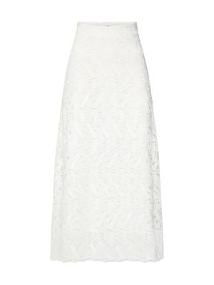 IVY & OAK Sukně Midi Graphic Lace Skirt bílá, vel.38