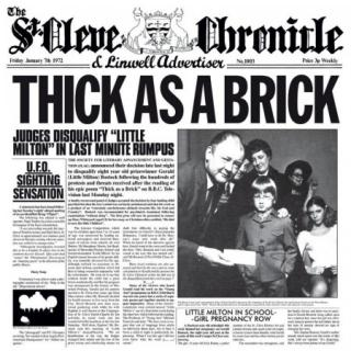 Jethro Tull : Thick As A Brick CD