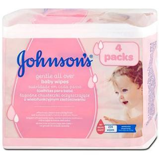 JOHNSONS BABY Wipes Gentle All Over 224 ks (3574661265568)