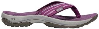 KEEN Dámské pantofle Waterfront Kona Flip Grape Kiss/Grape Wine 37
