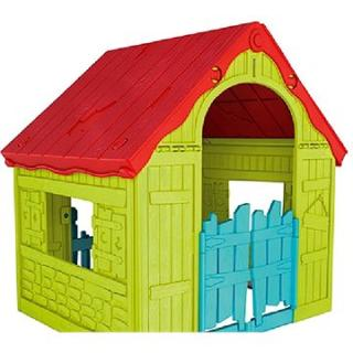 KETER FOLDABLE PLAYHOUSE zelená (228445)