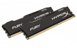 KINGSTON 16GB 1866MHz DDR3L CL11 DIMM (Kit of 2) 1.35V HyperX FURY Black, HX318LC11FBK2/16