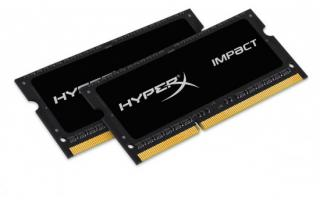 KINGSTON 16GB 1866MHz DDR3L CL11 SODIMM (Kit of 2) 1.35V HyperX Impact, HX318LS11IBK2/16
