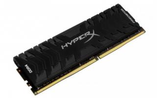 Kingston HyperX Predator 8GB 4000MHz DDR4 CL19 DIMM XMP, HX440C19PB3/8