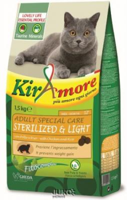 Kiramore Cat Adult S.Care Sterilized 1,5kg-12352