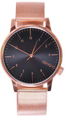 Komono Winston Royale Rose Gold - Black KOM-W2354