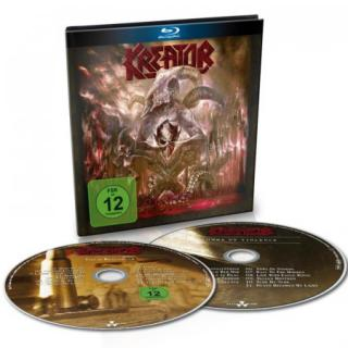 Kreator : Gods Of Violence   BLU-RAY CD BRD