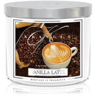 Kringle Candle Vanilla Latte vonná svíčka 411 g I.