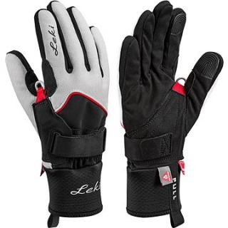 Leki rukavice Glove Nordic Thermo Shark Lady white-black-red vel. 8 (643912201080)