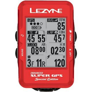 Lezyne Super GPS Special Edition - Red
