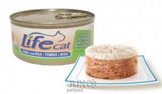 Lifecat Tuna and rice with squids 170g-30125