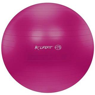 Lifefit anti-burst 75 cm, bordó (4891223119633)