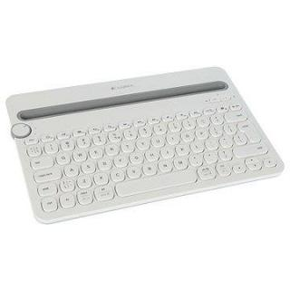 Logitech Bluetooth Multi-Device Keyboard K480 US bílá