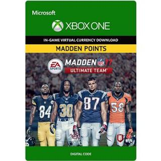 Madden NFL 17: MUT 7100 Madden Points Pack - Xbox One Digital (7F6-00051)