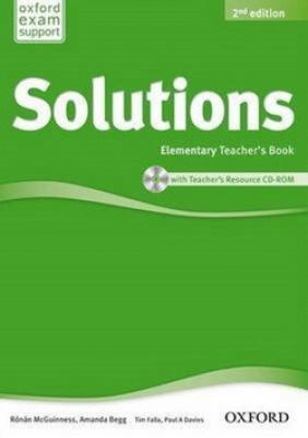 Maturita Solutions Elementary Teacher`s Book with Teacher`s Resource CD-ROM