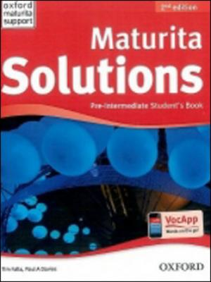 Maturita Solutions Pre-Intermediate Student´s Book Czech Edition - Falla Tim, Davies P.A.