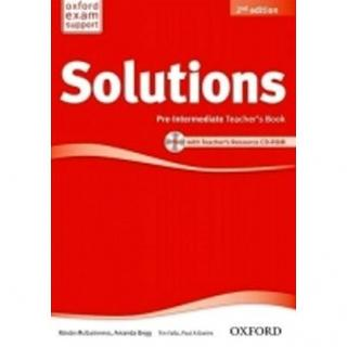 Maturita Solutions Pre-Intermediate Teacher´s book with Teacher´s resource CD-RO: 2nd Edition