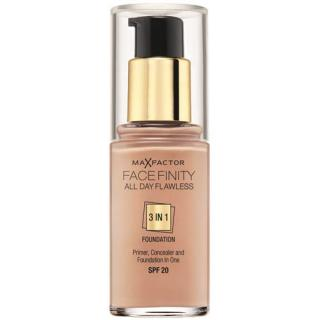 Max Factor Dlouhotrvající make-up Facefinity 3 v 1 (All Day Flawless) 30 ml 50 Natural