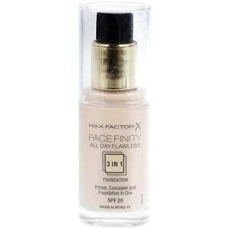 MAX FACTOR Facefinity 3 in 1 Foundation 45 Warm Almond 30 ml (5410076971398)