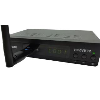Maxxo T2 HEVC/H.265 Set-top box   WIFI adapt