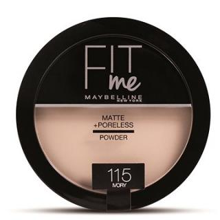 MAYBELLINE NEW YORK Fit Me Matte Poreless 115 Ivory 14 g (8992304056970)