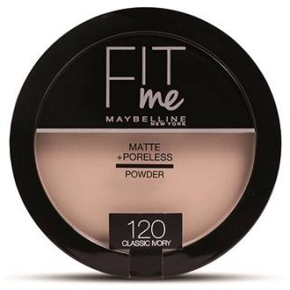 MAYBELLINE NEW YORK Fit Me Matte Poreless 120 Classic Ivory 14 g