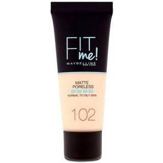 MAYBELLINE NEW YORKFit Me! Matte & Poreless Make up Fair Ivory 102 30 ml