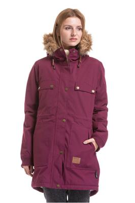 Meatfly Dámská bunda Ruby 2 Parka Purple L
