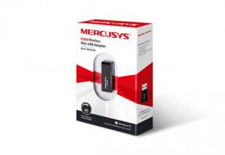 Mercusys MW300UM 300Mbps Wireless N Mini USB Adapter, Mini Size, USB 2.0