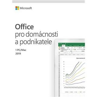 Microsoft Office 2019 Home and Business ENG (BOX) (T5D-03216)