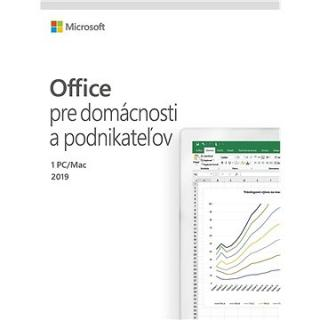Microsoft Office 2019 Home and Business SK