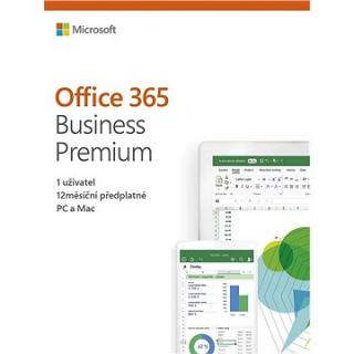 Microsoft Office 365 Business Premium Retail CZ (BOX) (KLQ-00413)