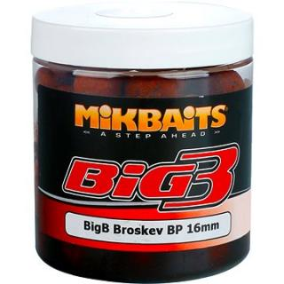 Mikbaits Legends Boilie v dipu BigB Broskev Black pepper 16mm 250ml (8595602233885)